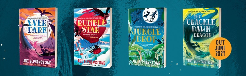 Abi Elphinstone Book Covers